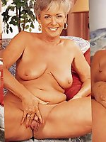 Superb mature grannies get naked