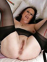 Fascinating mature babes demonstrating their skills