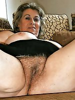 Mature female in hot panties