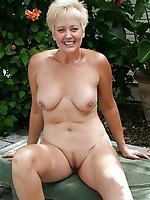 Adored mature strumpets getting naked