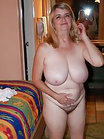 Charming mature tarts having dripping hole