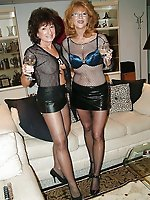 Fiery older mademoiselles getting nude on cam