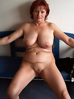 Voluptuous damsel demonstrates her skills