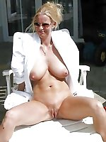 Hottest mature dames trying to tease