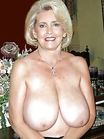 Awesome mature gilf having giant jugs