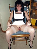 Gorgeous aged dame having fun with her boyfriend